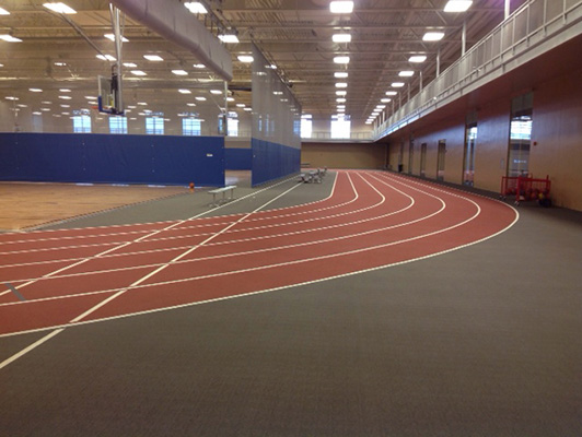 Williston Rec Center - Running Track Floor