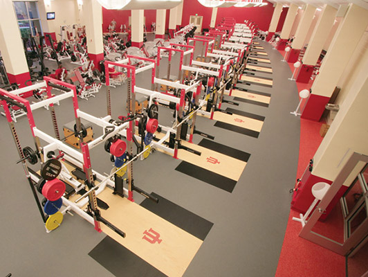 Strength Training Flooring Indiana University