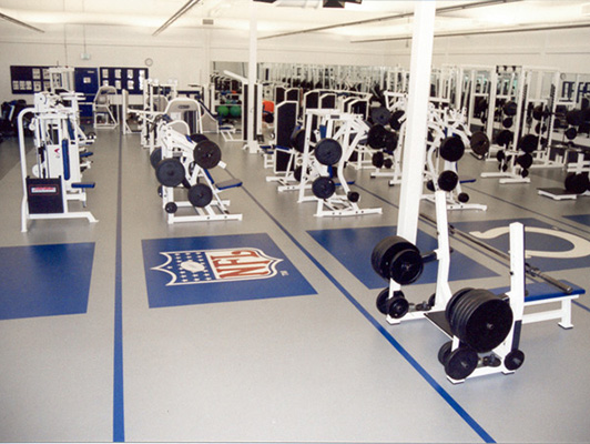 Strength Training Flooring Indianapolis Colts
