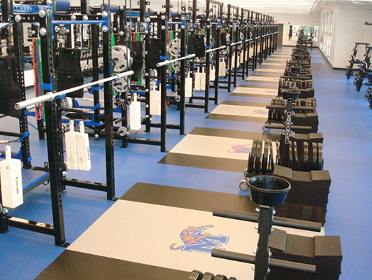 Strength Training Flooring - University Of Memphis