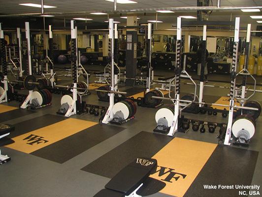 Strength Training Room Flooring