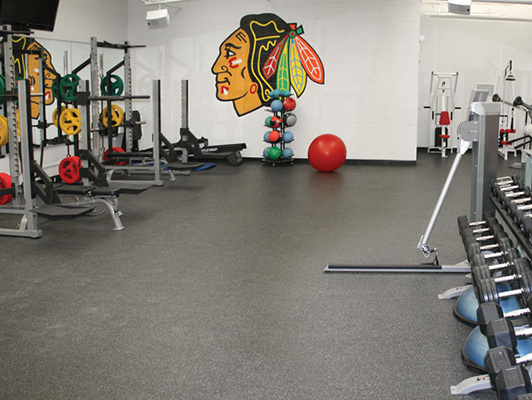 Strength Training Room Flooring