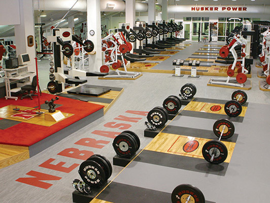 Strength Training Flooring - University Of Nebraska