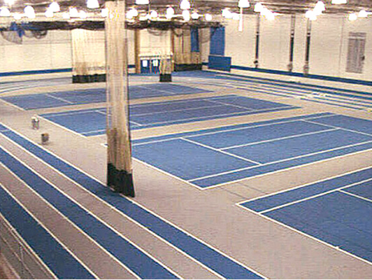 Eastern Illinois University Tennis Flooring