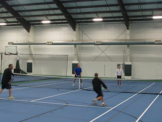 Tennis Flooring - McCleod County Fairgrounds