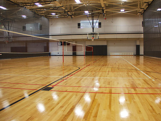 Purdue University Volleyball Flooring