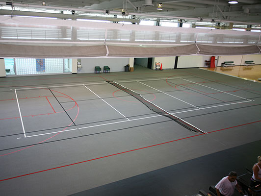Rosemont Fitness Center Volleyball Flooring
