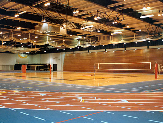 University Of Wisconsin Volleyball Flooring