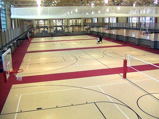 Volleyball Flooring - Youngstown State University