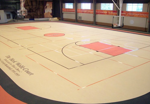 University Of Findlay - Indoor Sports Flooring