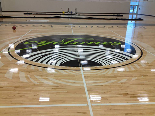 Moraine Valley Community College - Sports Wood Flooring