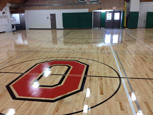 Ohio State University - Sports Wood Floor