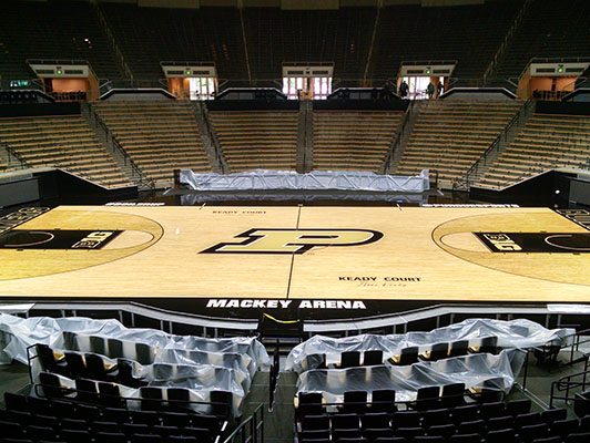 Purdue University - Sports Wood Flooring