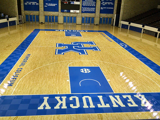 University Of Kentucky - Gym Floor