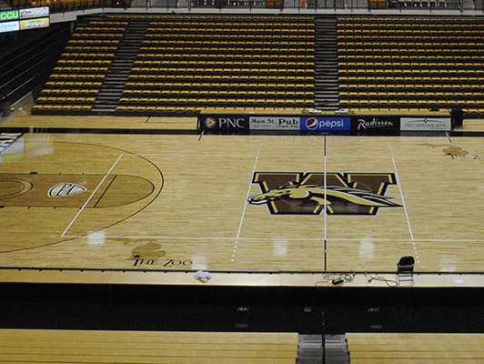 Western Michigan University - Wood Flooring