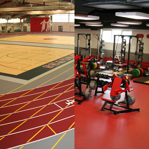 Kiefer Completes The Niles West Wolves Field House And Weight Room