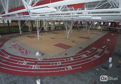 Homewood flossmoor high school north building renovation for Homewood flooring