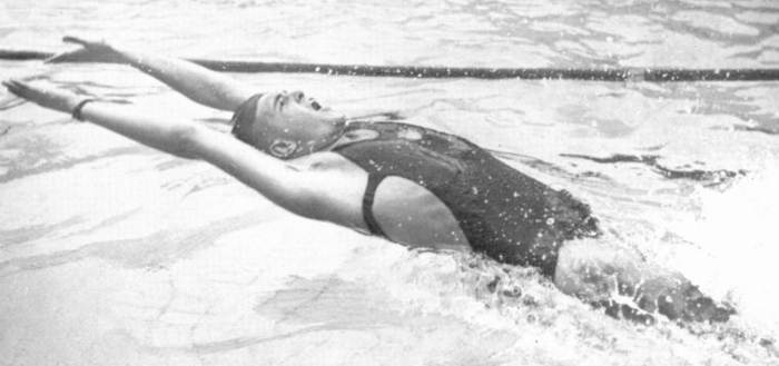1935 Adolph Backstroke