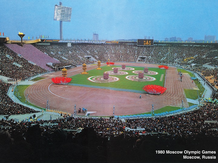 1980 – Moscow Olympics