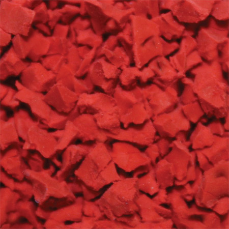 ColorFlex Rubber Flooring Bright Red