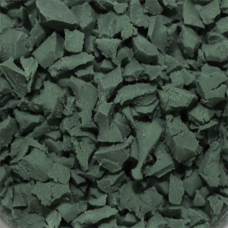 ColorFlex Rubber Flooring Dark Green