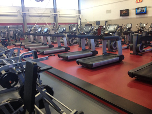 Ellsworth Air Force Base Cardio Fitness Flooring