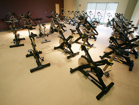Cardio Fitness Flooring - Indiana State University