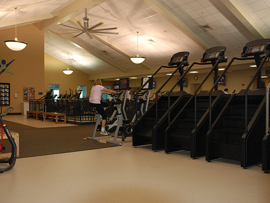Lindenhurst Health Club Cardio Fitness Flooring