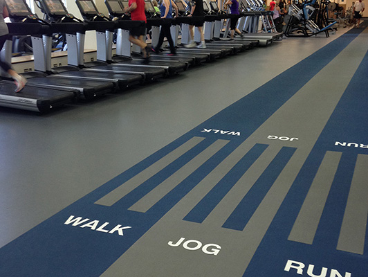 Cadence Fitness And Health Center Flooring