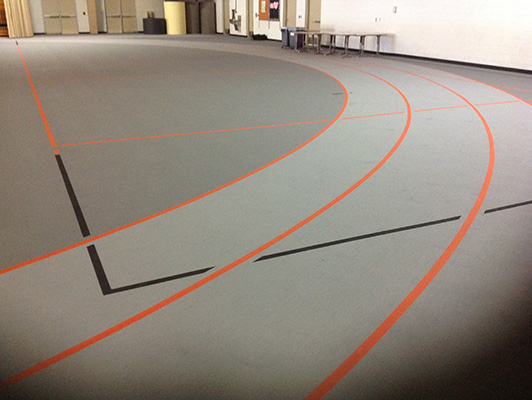 Hartford High School - Volleyball Flooring