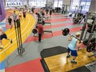 Health Club fitness flooring