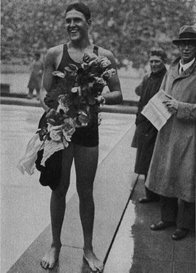 1936 Adolph Kiefer Gold Medal