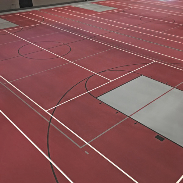 Earlham College - Sports Rubber Flooring