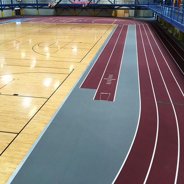 Southern Illinois University - Indoor Running Track Surfaces
