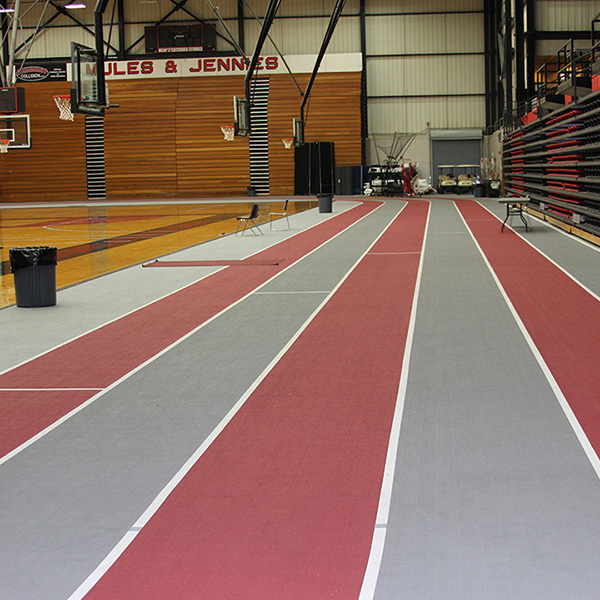 University Of Central Missouri - Indoor Running Track Surfaces