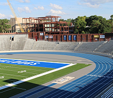 New Mondo Track Surface At Drake University Installed By