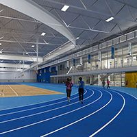 St. Ambrose University Chooses Mondo Over Urethane For New Rec Center