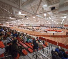 Mondo Tracks Dominate Indoor Track Meets