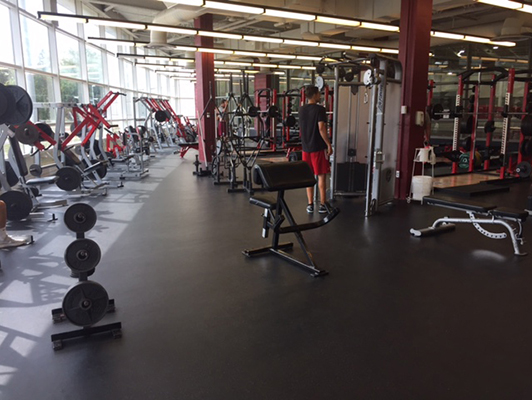 Rose-Hulman Institute Of Technology Weight Room Flooring