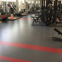 University Of Nebraska Weight Room Flooring