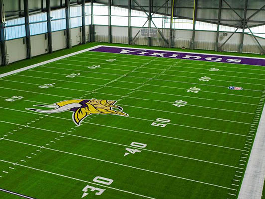 Minnesota Vikings Indoor Practice Turf