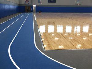 school gym flooring
