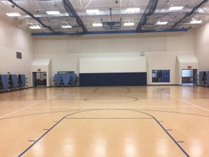 synthetic gym flooring - Lake High School