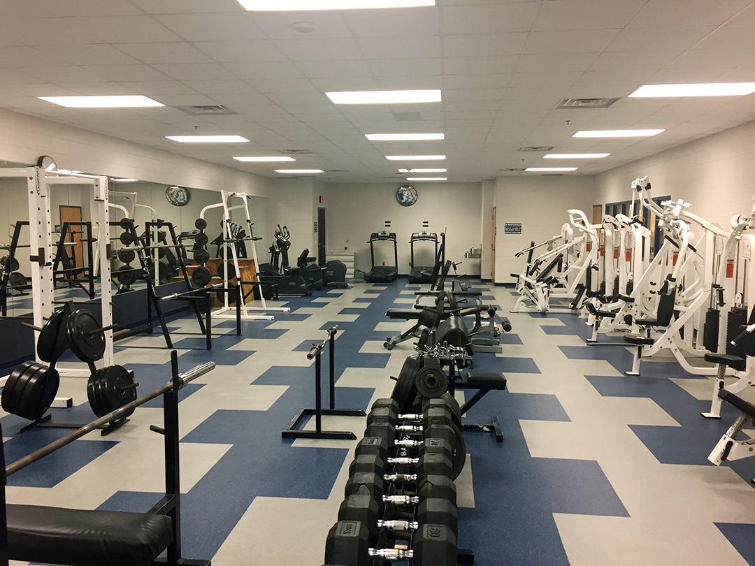 Lake High School Fitness Flooring