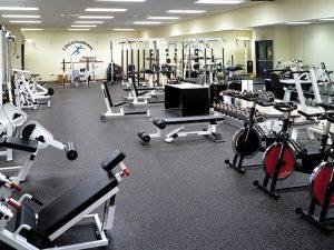Lanco Performance fitness flooring