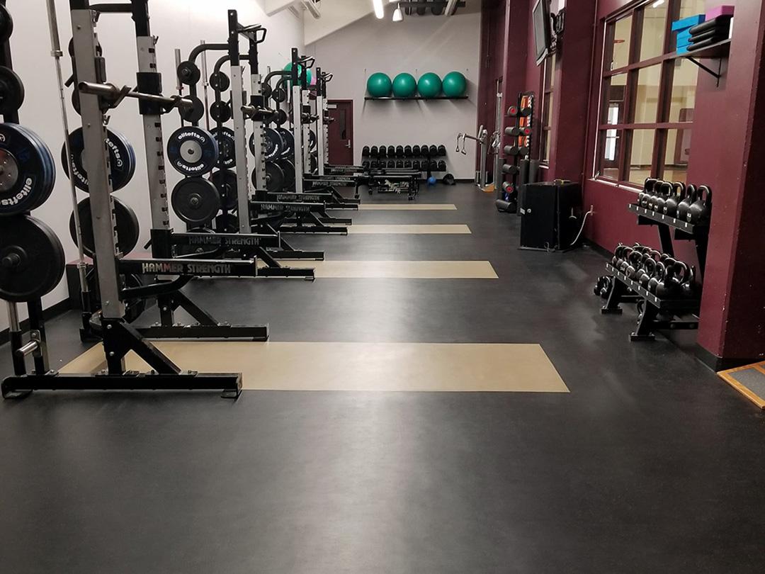 Missouri State VB Weight Room