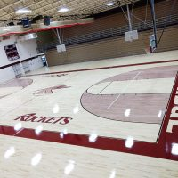 Rockridge High School Gym Flooring