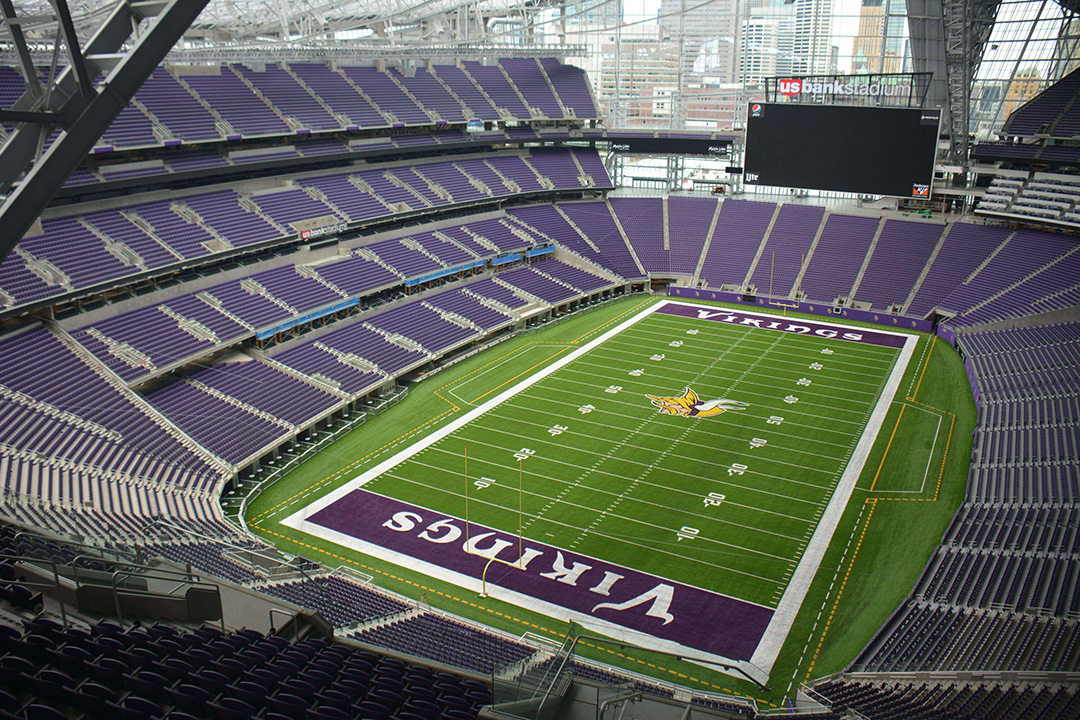 Minnesota Vikings - Artificial Turf Stadium