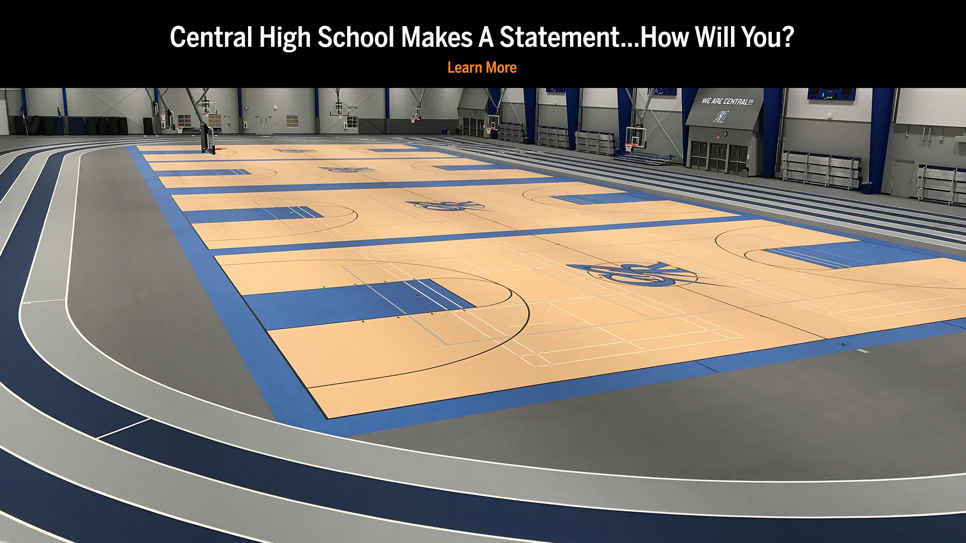 Central High School Fieldhouse Flooring by KieferUSA