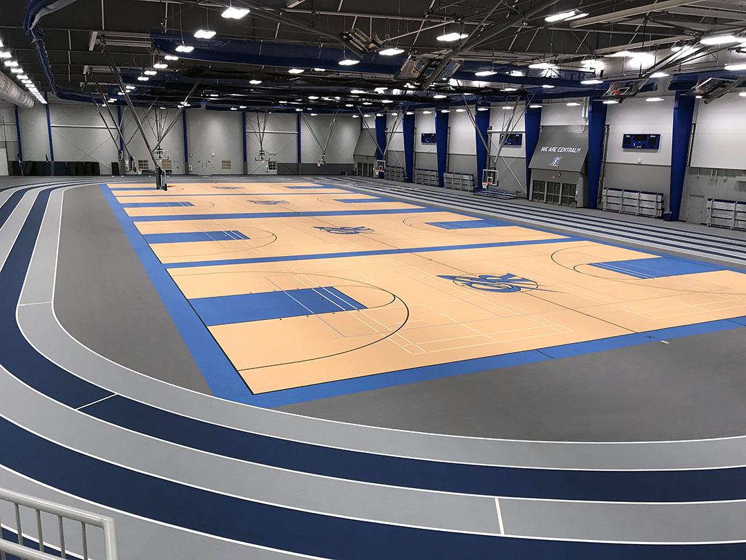 Central High School Fieldhouse Flooring